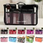 Hot Organizer Women Travel Bag Purse Handbag Insert Large Tidy Makeup Cosmetic