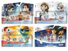 Disney Infinity toy box set all consoles 2 figures and power disks