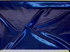 Discount Fabric Satin Navy Blue 64 inches wide 89SA