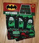 NWT Men's BATMAN Green Christmas Boxer ~Various Sizes~