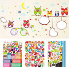 Childrens Boys Girls Bedroom Decor Nursery Wall Stickers Art Decals