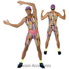 CL260 Mr Energizer 1990s Retro TV Fitness Instructor Motivator Mens Costume
