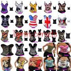 Wholesale Lots Corsets, Tattoo Boned Padded Elastic Corset Halloween Costume Top