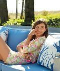 """New Lilly Pulitzer NELLE JACKET 4 / 6 """"Multi Floral Sunbonnet Lace"""" Eyelet NWT"""