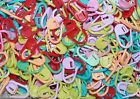10/25/50  ASSORTED COLOUR PLASTIC STITCH HOLDERS 12 X 22MM  #KNITTING /CRAFTS