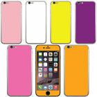 For Apple Iphone 6 Plus 5.5 inch Solid VINYL DECAL Sticker Body Phone Cover