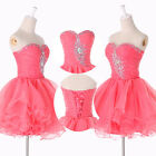 Short Prom Dress,Puffy Homecoming Cocktail Bridesmaid Evening Dresses Size 2 8++