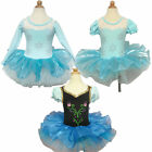 Girl Kid Halloween Cosplay Ballet Tutus Skate Skirt Dress 2-8Y Leotard Dancewear
