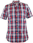 D555 CHECK SHIRT RED / WHITE / BLUE Size XXL XXXL 2XL 3XL 4XL 5XL 6XL