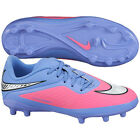Nike Hyper Venom FG  Phelon 2015 Soccer SHOES  Violet / Pink KIDS - YOUTH