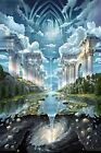 The Heavens and the Earth Genesis II by John Stephens Poster 61x91.5cm