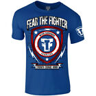 Fear the Fighter Super Hero Line Captain Fearless T-Shirt - Blue
