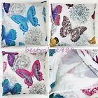 2X Butterfly Flower Stamp Prints Throw Pillow Case Cushion Cover Home Sofa Decor