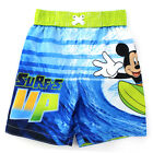 Mickey Mouse Boys Swimwear 157112MM 257112MM 257110MM 12M-4T Rash Guard Trunks