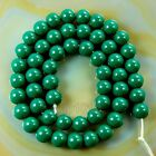 """Quality Czech Opaque Glass Pearl Smooth Round Beads 16""""4 6 8 10 12mm"""