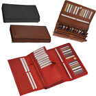 Ladies Large Clutch / Organiser Purse with Multiple Sections Black,Brown,Tan,Red