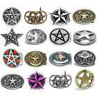 BBUM0129 PENTAGRAM ROCK 5 POINT NAUTICAL CELTIC RANGER GOTHIC STAR BELT BUCKLE