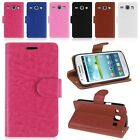 Wallet PU Leather Flip Stand Case Cover Skin For Samsung Galaxy Core i8260 i8262