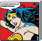 New DC Comics I'm Wonder Woman Heroine DC Universe Canvas Print