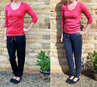 LONG Length Cuffed Jersey Trouser, TALL Joggers SIZES S M L XL