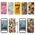 For Apple iPhone 5S 5 Luxmo Vintage Design Protective Hard Case Cover Stylus New