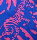 """New Lilly Pulitzer CALLAHAN SHORT 14 """"Blue Rollin In The Grass"""" ZEBRA Shorts NWT"""