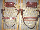 Внешний вид - *BINDINGS ONLY* New Pair LEATHER Universal Snowshoe Bindings Straps Harness USA