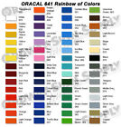 "You Pick the Color 15"" x 10 yds ORACAL 641 Calendered  Adhesive Vinyl"