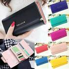 2015 New Fashion Lady Womens Purse Long Wallet Bags PU Handbags Card Holder Gift