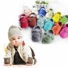 Newborn Infant Boy Girl Tassel Sole Leather Shoes Toddler Moccasi Unisex Shoes