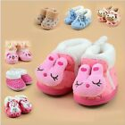 New Winter Baby Boy Girl Newborn Toddler Rabbit Anti-slip Shoes Slipper Gifts LA
