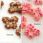 Mini Kawaii Flat Back Resin Butterfly Cookie Cabochon Charm