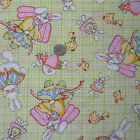 """Springs EASTER MINI PRINTS BUNNY ANGELS Cotton Blend Quilting Sewing Fabric 101"""""""