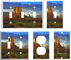 ARIZONA RED ROCKS DESERT  LIGHT SWITCH COVER PLATE K1 U PICK SIZE