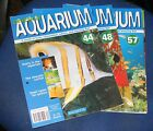 PRACTICAL AQUARIUM MAGAZINE VARIOUS ISSUES 44 - 60
