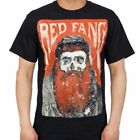 RED FANG BEARDED SKULL HEAVY METAL ROCK MURDER THE MOUNTAINS MENS SHIRT S-3XL
