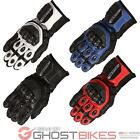 Buffalo Jerez Motorcycle Gloves Leather Carbon Reinforced Sport Race GhostBikes