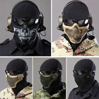 Strike Metal Mesh Protective Mask Half Face Tactical Airsoft Military Mask Styli