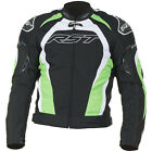 RST TRACTECH EVO II 1397 Green CE ARMOURED TEXTILE SPORTS MOTORCYCLE JACKET