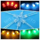5mm 2 pin Round top Diffused Colorful Super Bright LED light