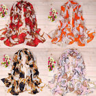 Women Fashion Girls Stylish Long Soft Silk Chiffon Scarf Wrap Shawl Scarves 16z
