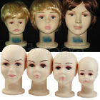 New Children Mannequins Manikin Wig Hats Mould Show Stand Display Head Model