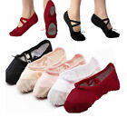 Adult Womens Girls Beautiful Ballet Dance Shoes Fitness Gymnastics Shoes Canvas