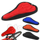 New Silicone Cycling Saddle Silica Gel Cushion Bicycle Bike Soft Pad Seat Cover