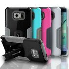 Shockproof Hybrid Dual Layer Case Cover Skin w/ Kickstand for Samsung Galaxy S6