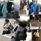 Women Handbag Braided Shoulder Bags Lady Tote Shopper Purse PU Leather Hobo Bag