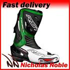 RST TRACTECH EVO 1516 Green CE CERTIFIED SPORTS MOTORCYCLE MOTORBIKE BOOTS