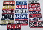 MLB LICENSE PLATE AUTO TRUCK OR CAR FREE SHIPPING !! WE HAVE MOST TEAMS