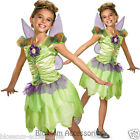 CK395 Tinkerbell Rainbow Fairy Tinker Girls Child Book Week Fancy Dress Costume