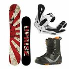 New 2015 Uprise Snowboard Package + Rome Folsom Boots + Summit Bindings
